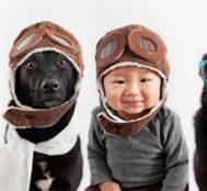 Minik Jasper'in Köpeğiyle Beraber Çektirdiği 10 Ultra Fotojenik Fotoğrafı!