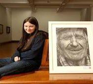 16 Yaşındaki Bu Kız Çizdiği Resimle Katıldığı Yarışmadaki Bütün Ödülleri Topladı.. İşte O İnanılmaz Portre!