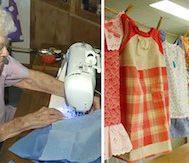99 Yaşındaki Bu Kadın Her Gün İhtiyaç Sahibi Bir Çocuk İçin Elbise Dikiyor
