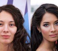 17 Kadın Makyajdan Önceki ve Sonraki Hallerini Fotoğraflarla Paylaştı.. Ortaya Çıkan Görüntüler Erkekleri Çok Şaşırtacak