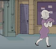 Sidewalk: Kadın Vücudunun Gençlikten Yaşlılığa Dönüşümünü ve Psikolojisini Anlatan Kısa Animasyon