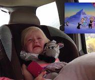 Çizgi Film İzlerken Duygulanan ve Gözyaşlarını Tutamayan Bu Küçük Kıza Çok Güleceksiniz!
