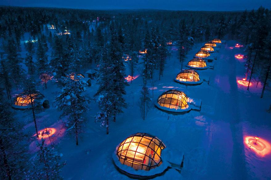 Kakslauttanen, Finlandiya
