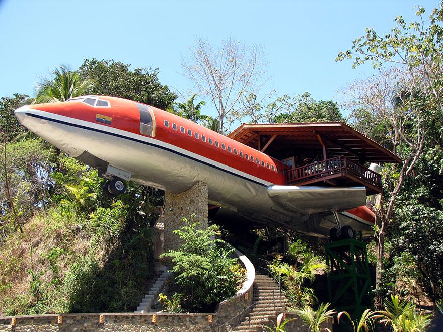 Plane Hotel, Kosta Rika