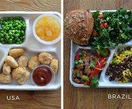 9 Farklı Ülkeden Çekilen Fotoğraflarla Bakın Öğrenciler Beslenme Saatlerinde Ne Tüketiyorlar