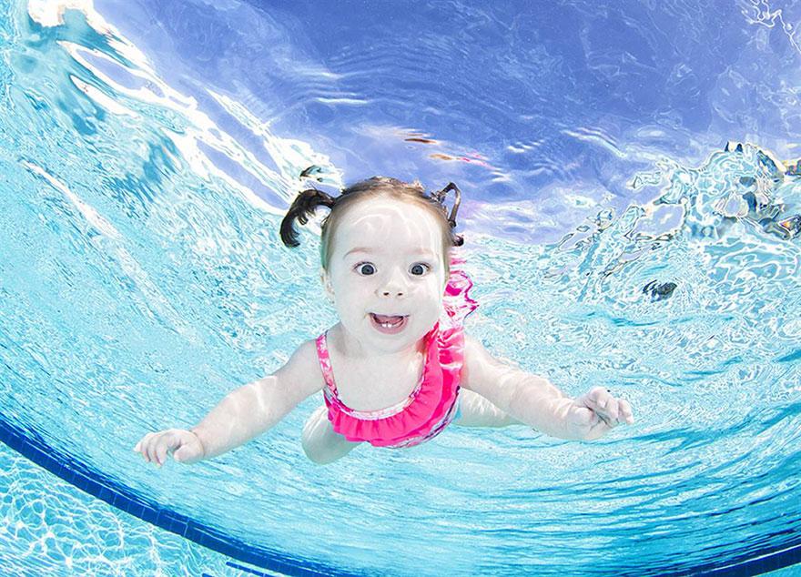 denizaltı bebek