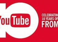 YouTube 10. Yılını A'dan Z'ye En Çok İzlenenlerden Oluşan Özel Bir Video İle Kutluyor