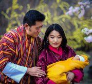 Dünyanın En Çevre Dostu Ülkesi Bhutan'da Yeni Doğan Prensin Adına 108.000 Ağaç Dikildi