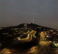 Güney Kore Ziyaretinde Türk Genci Tarafından Çekilmiş Namsan Kulesi'nin Videosu