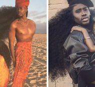 Sıradışı Saçlarıyla İnternette Fenomen Haline Gelen Baba-Kızın 7 Fotoğrafı