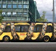Avrupa Sokaklarında Dolaşan Otobüslere Giydirilen 10 Yaratıcı Reklam