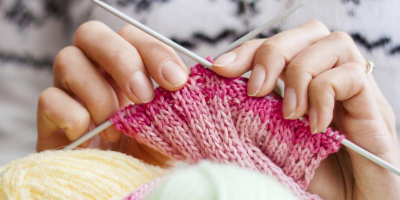 Knitting. Hobby