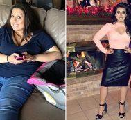 Aldatıldığını Öğrendikten Sonra 50 Kilo Veren Bu Kadının Azmine Hayran Kalacaksınız