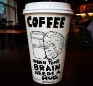 Kahve Bardaklarını Çizdikleriyle Eşsiz Bir Tuvale Dönüştüren Karikatürist Josh Hara
