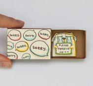 Shop3xu'nun Kibrit Kutusundan Yapılmış Gizli Mesajlı Tebrik Kartlarına Bayılacaksınız
