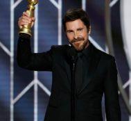 Christian Bale Golden Globe'da Ödülünü Kabul Ederken Şeytana Teşekkür Etti