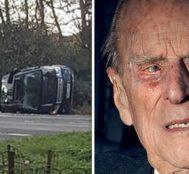 Prens Philip Yaptığı Trafik Kazasından Sonra Ehliyetini Yetkililere Teslim Etti